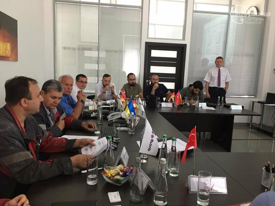 Мариупольское подразделение немецкой компании SMS group провело День Клиента для зарубежных партнеров, фото-6