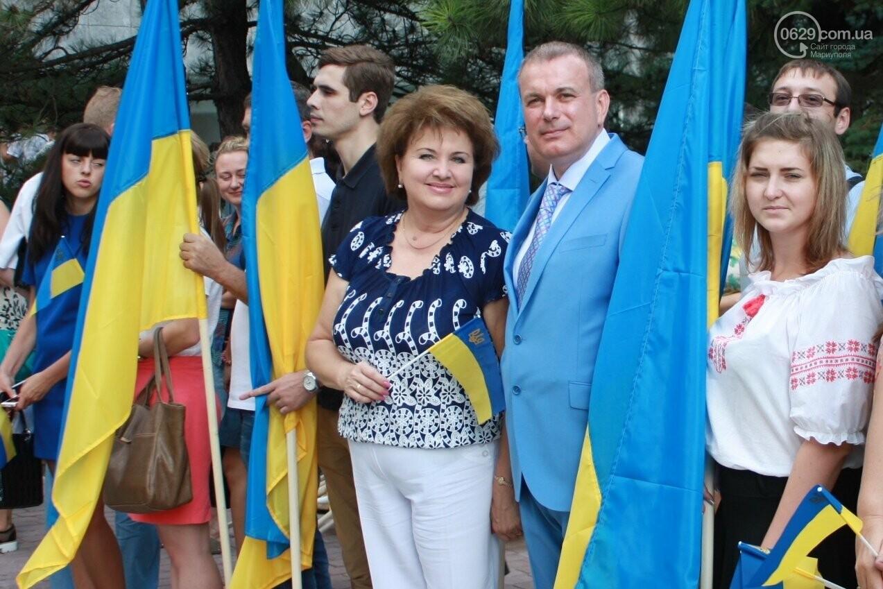 Юрий Тернавский поздравил мариупольцев с 27-летием Независимости Украины, фото-3