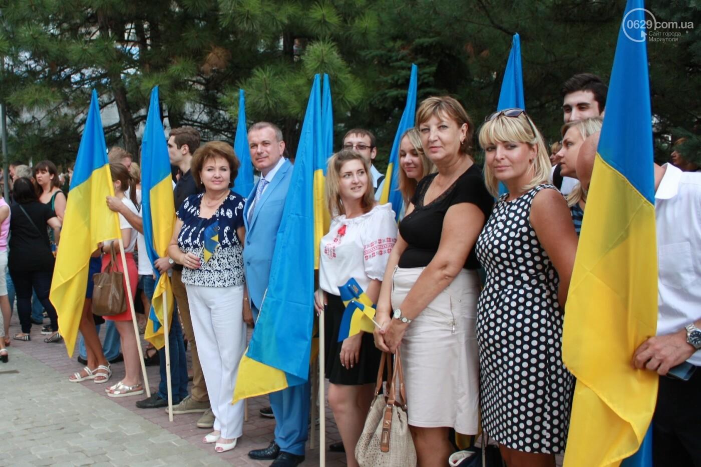 Юрий Тернавский поздравил мариупольцев с 27-летием Независимости Украины, фото-5