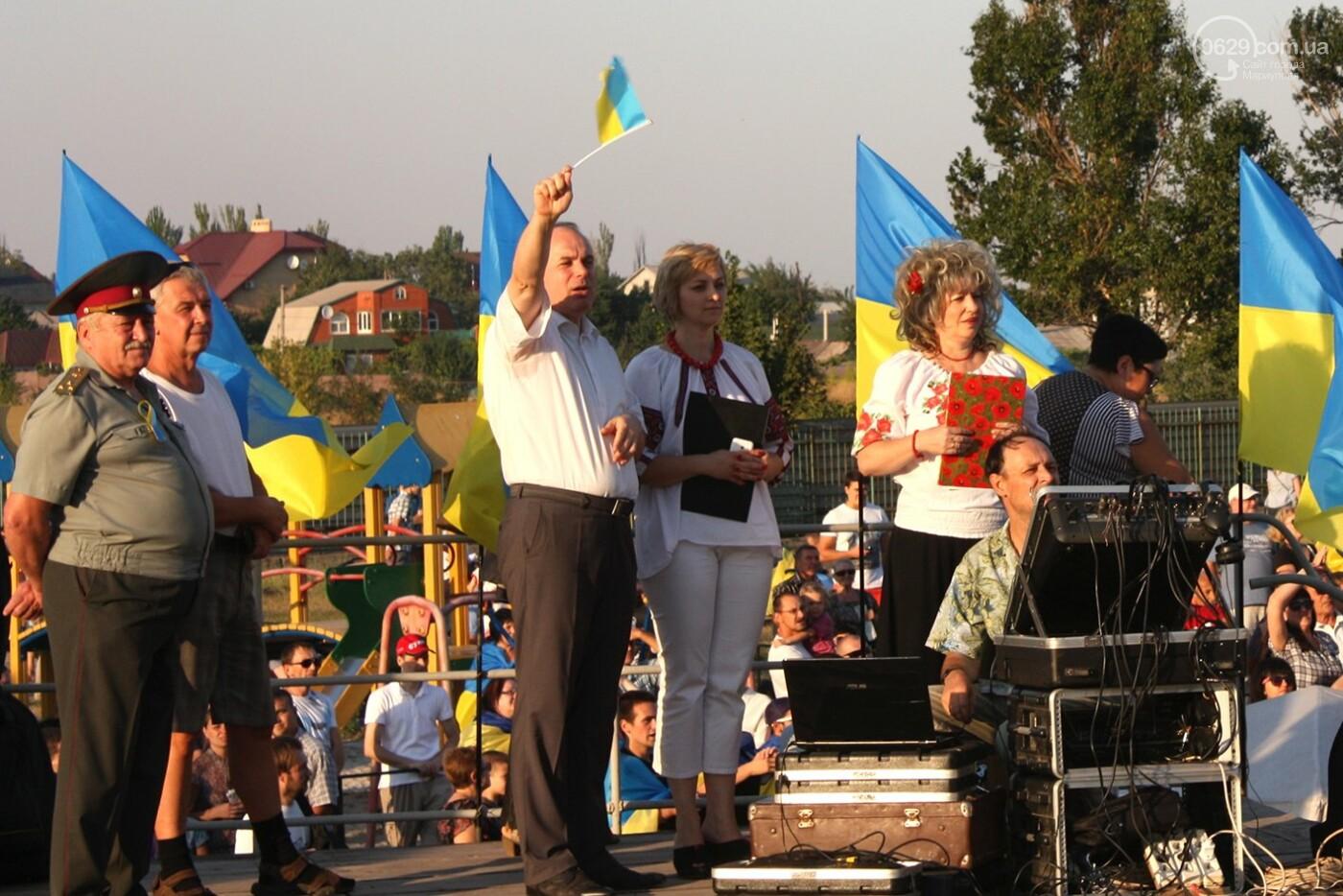 Юрий Тернавский поздравил мариупольцев с 27-летием Независимости Украины, фото-9