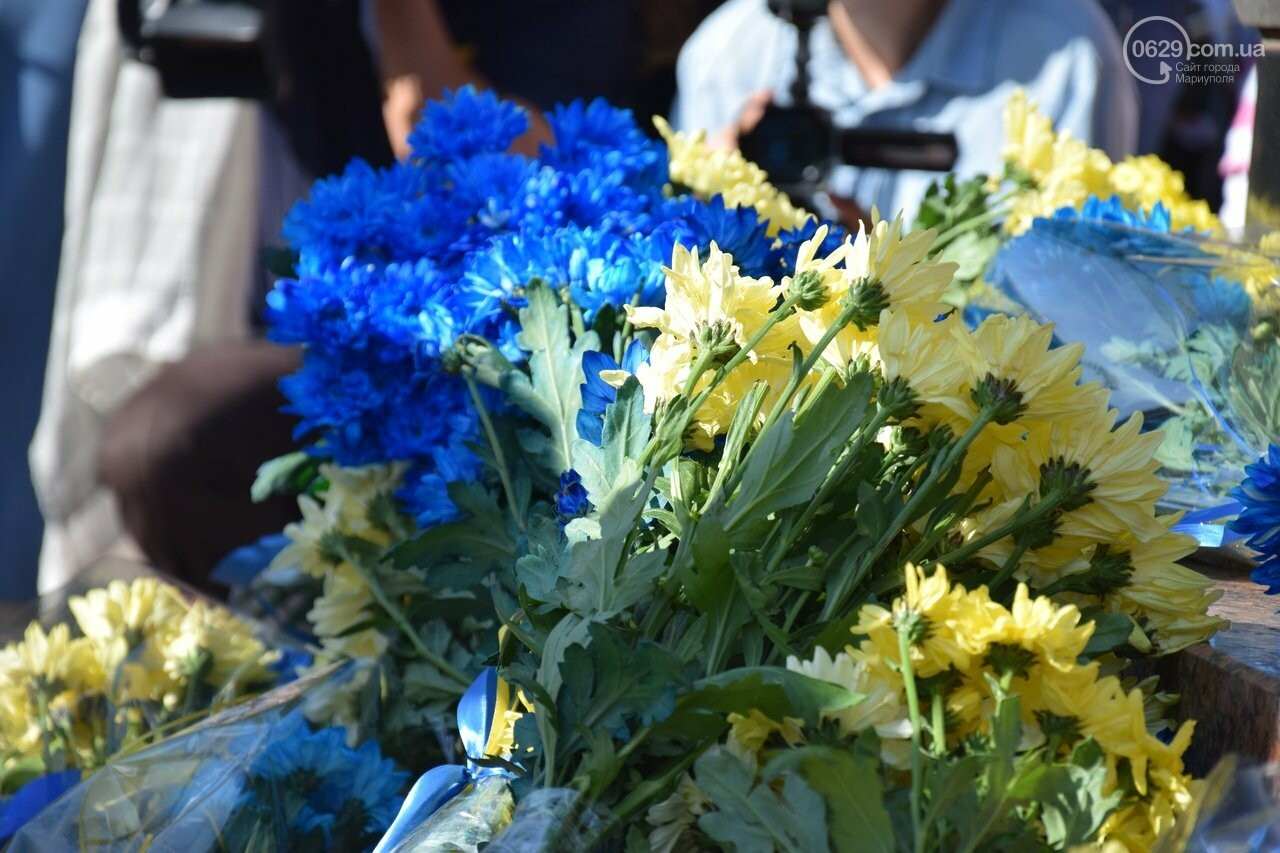 В Мариуполе празднуют День независимости Украины, - ФОТО, ВИДЕО, фото-8