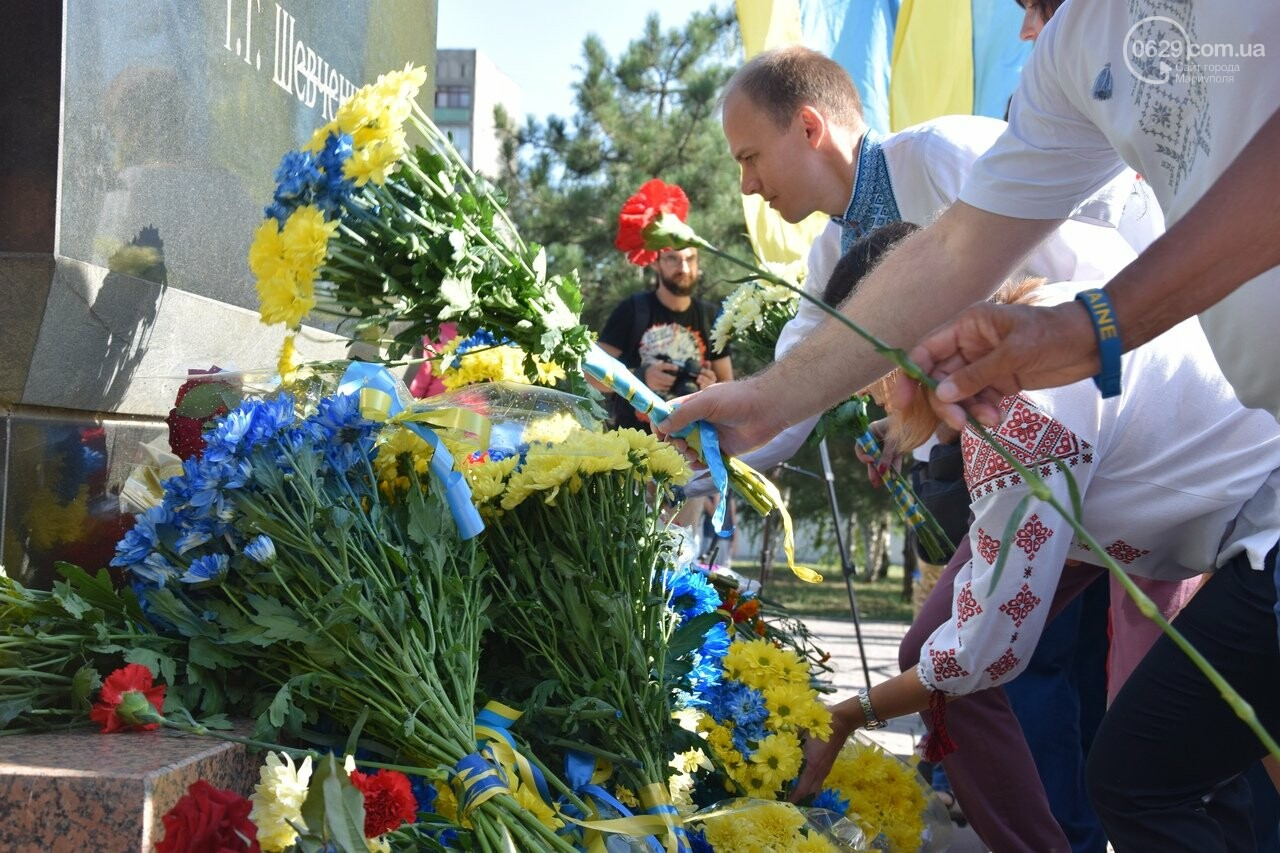 В Мариуполе празднуют День независимости Украины, - ФОТО, ВИДЕО, фото-14
