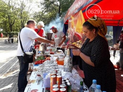 В День независимости мариупольцев кормили блюдами народов мира, - ФОТОРЕПОРТАЖ, фото-11