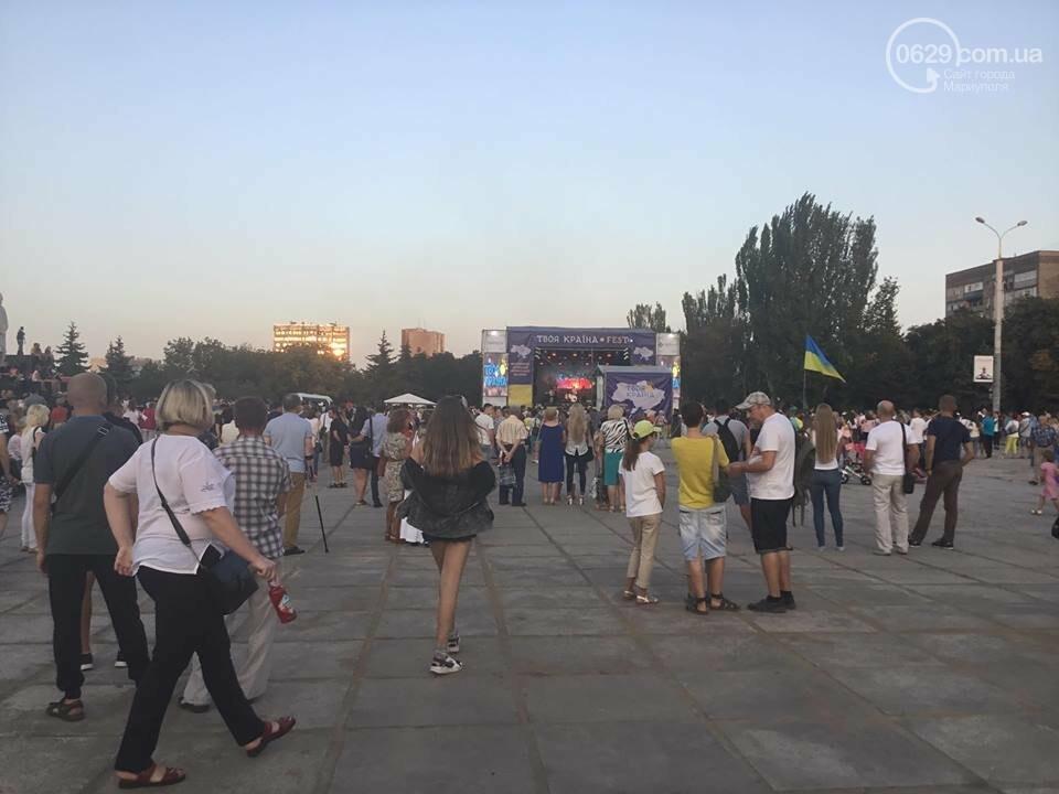 В Мариуполе в честь Дня независимости пели звезды украинской эстрады, - ФОТО, ВИДЕО, фото-6