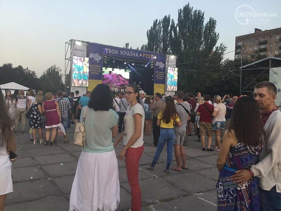 В Мариуполе в честь Дня независимости пели звезды украинской эстрады, - ФОТО, ВИДЕО, фото-23