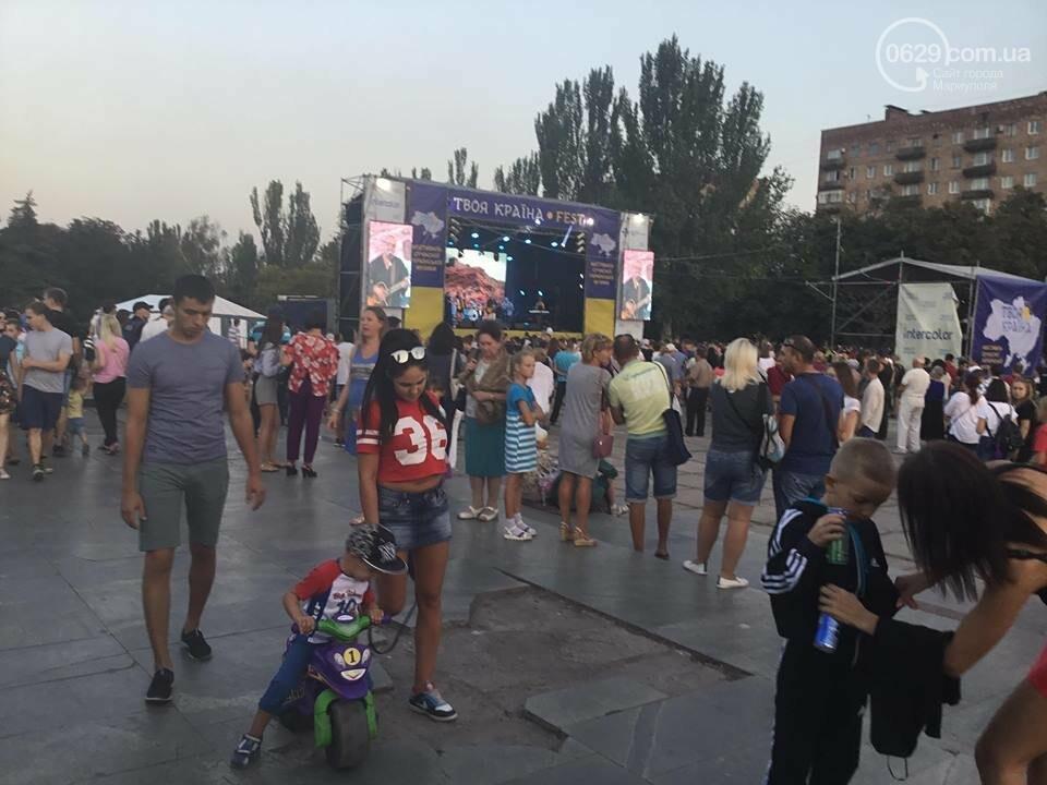 В Мариуполе в честь Дня независимости пели звезды украинской эстрады, - ФОТО, ВИДЕО, фото-10
