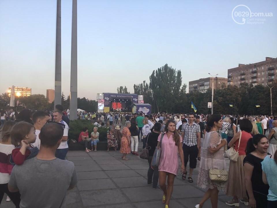В Мариуполе в честь Дня независимости пели звезды украинской эстрады, - ФОТО, ВИДЕО, фото-11