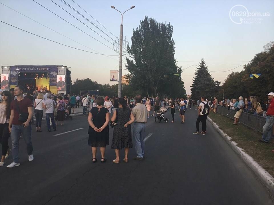 В Мариуполе в честь Дня независимости пели звезды украинской эстрады, - ФОТО, ВИДЕО, фото-16