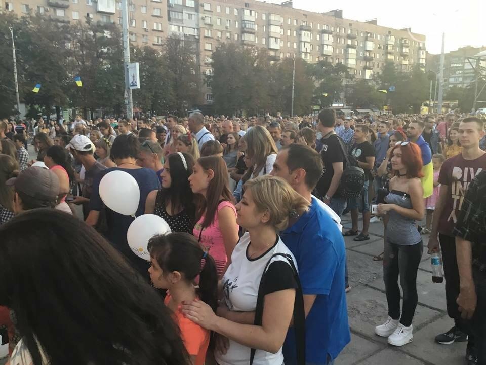 В Мариуполе в честь Дня независимости пели звезды украинской эстрады, - ФОТО, ВИДЕО, фото-19