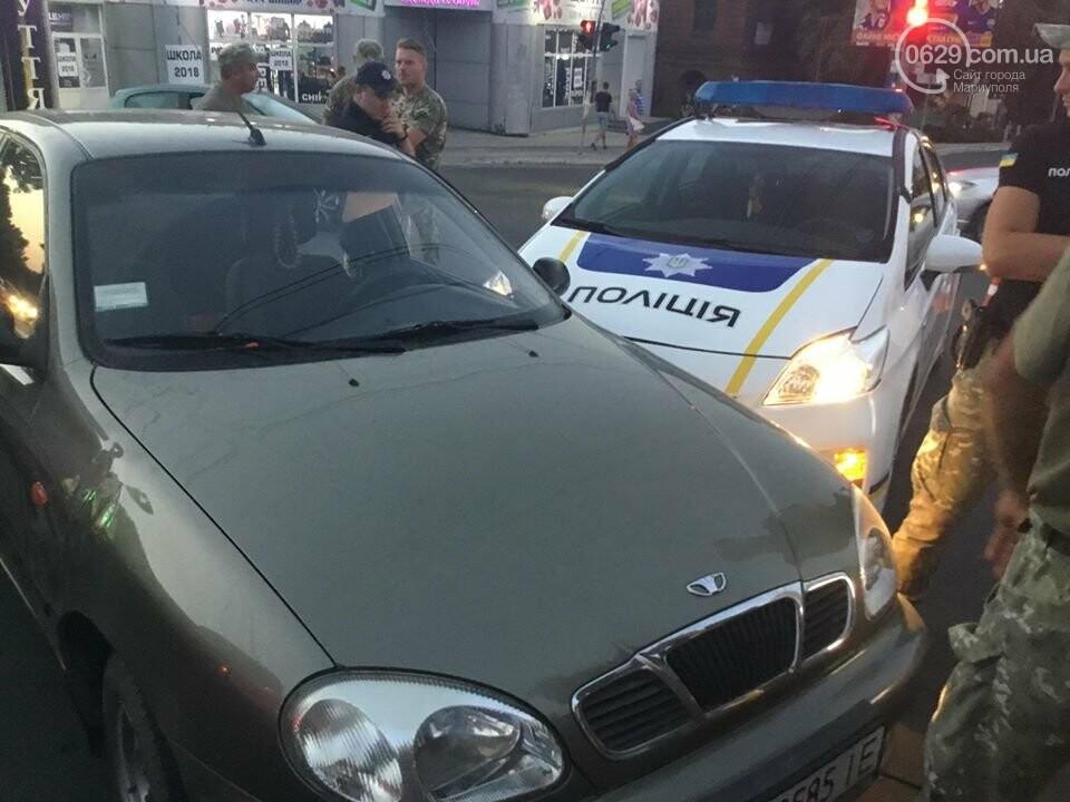 """В Мариуполе полицейский """"Приус"""" столкнулся с """"Дэу"""". Есть пострадавший, - ФОТО, ВИДЕО, фото-12"""