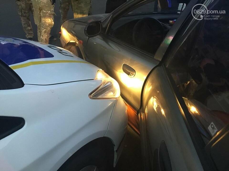 """В Мариуполе полицейский """"Приус"""" столкнулся с """"Дэу"""". Есть пострадавший, - ФОТО, ВИДЕО, фото-11"""