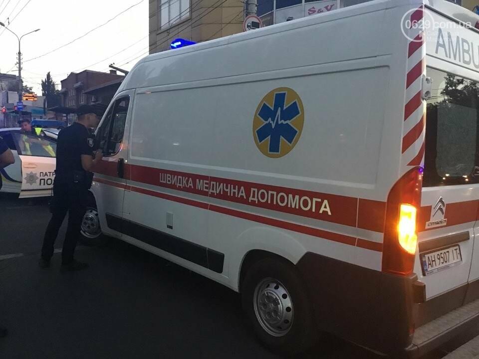 """В Мариуполе полицейский """"Приус"""" столкнулся с """"Дэу"""". Есть пострадавший, - ФОТО, ВИДЕО, фото-14"""