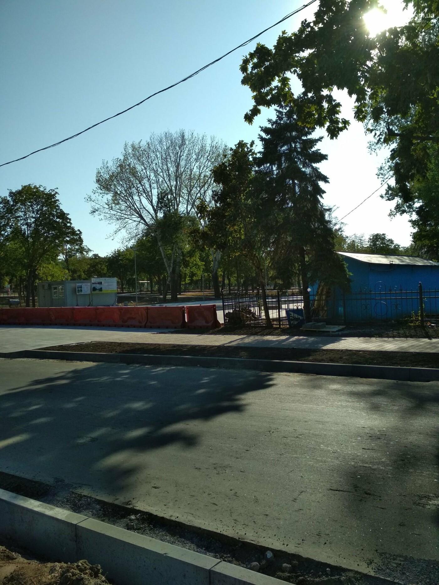 Как идет реконструкция нового мариупольского мультицентра в Левобережном районе, - ФОТО, фото-3