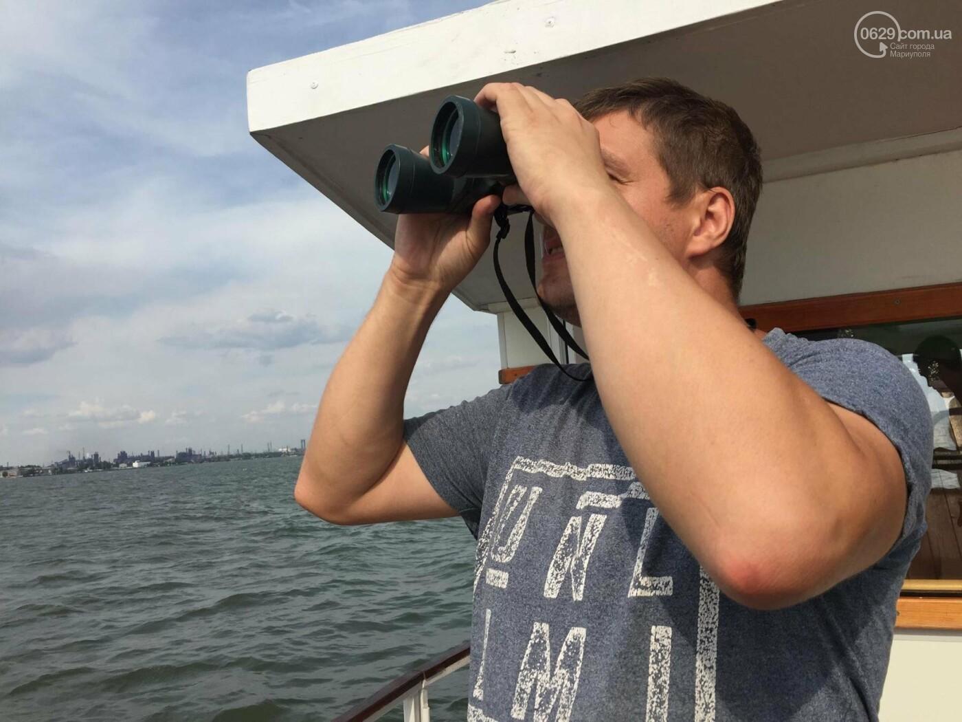 В Азовском море курсирует морской трамвайчик на солнечных батареях, - ФОТО , фото-6