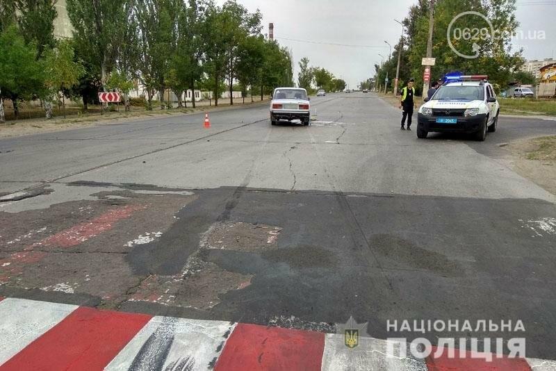 В Мариуполе автомобиль сбил мать с дочкой на пешеходном переходе, - ФОТО, фото-1