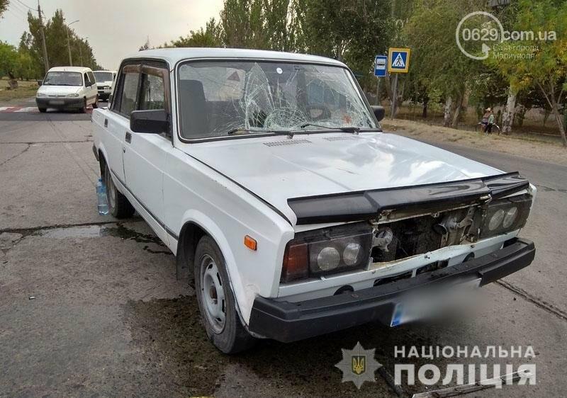 В Мариуполе автомобиль сбил мать с дочкой на пешеходном переходе, - ФОТО, фото-2