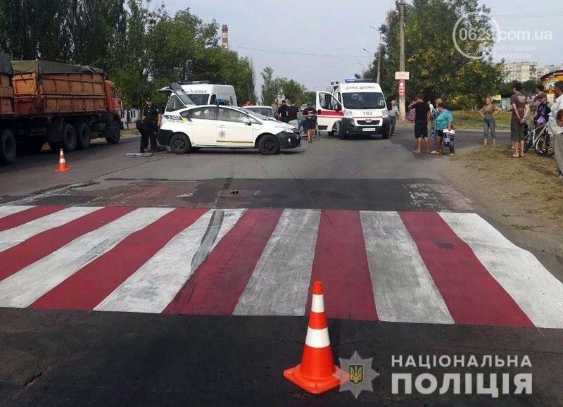 В Мариуполе автомобиль сбил мать с дочкой на пешеходном переходе, - ФОТО, фото-3