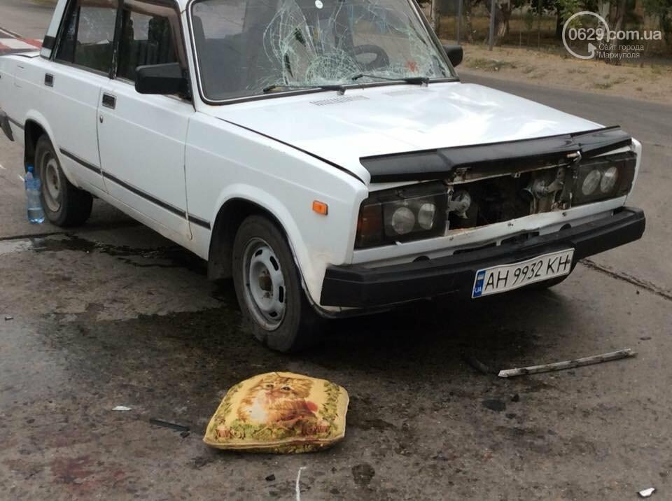 В Мариуполе автомобиль сбил мать с дочкой на пешеходном переходе, - ФОТО, фото-4