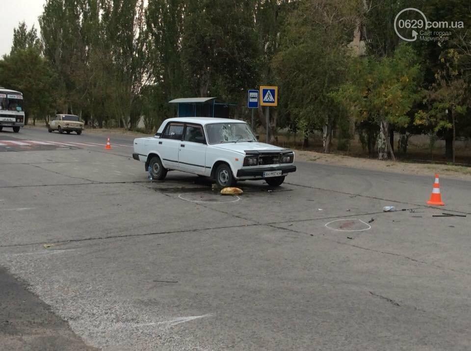 В Мариуполе автомобиль сбил мать с дочкой на пешеходном переходе, - ФОТО, фото-6