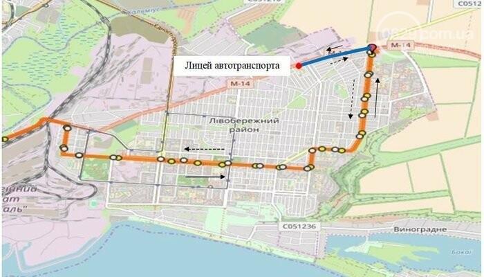 В Мариуполе в часы пик изменится маршрут движения автобуса №153, - СХЕМА, фото-1