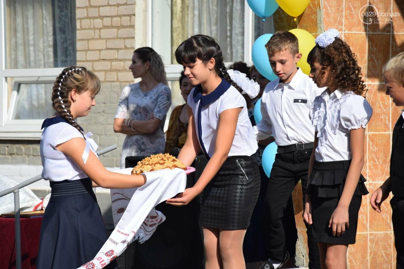 Первый звонок в прифронтовой школе. Чермалык, фото-27