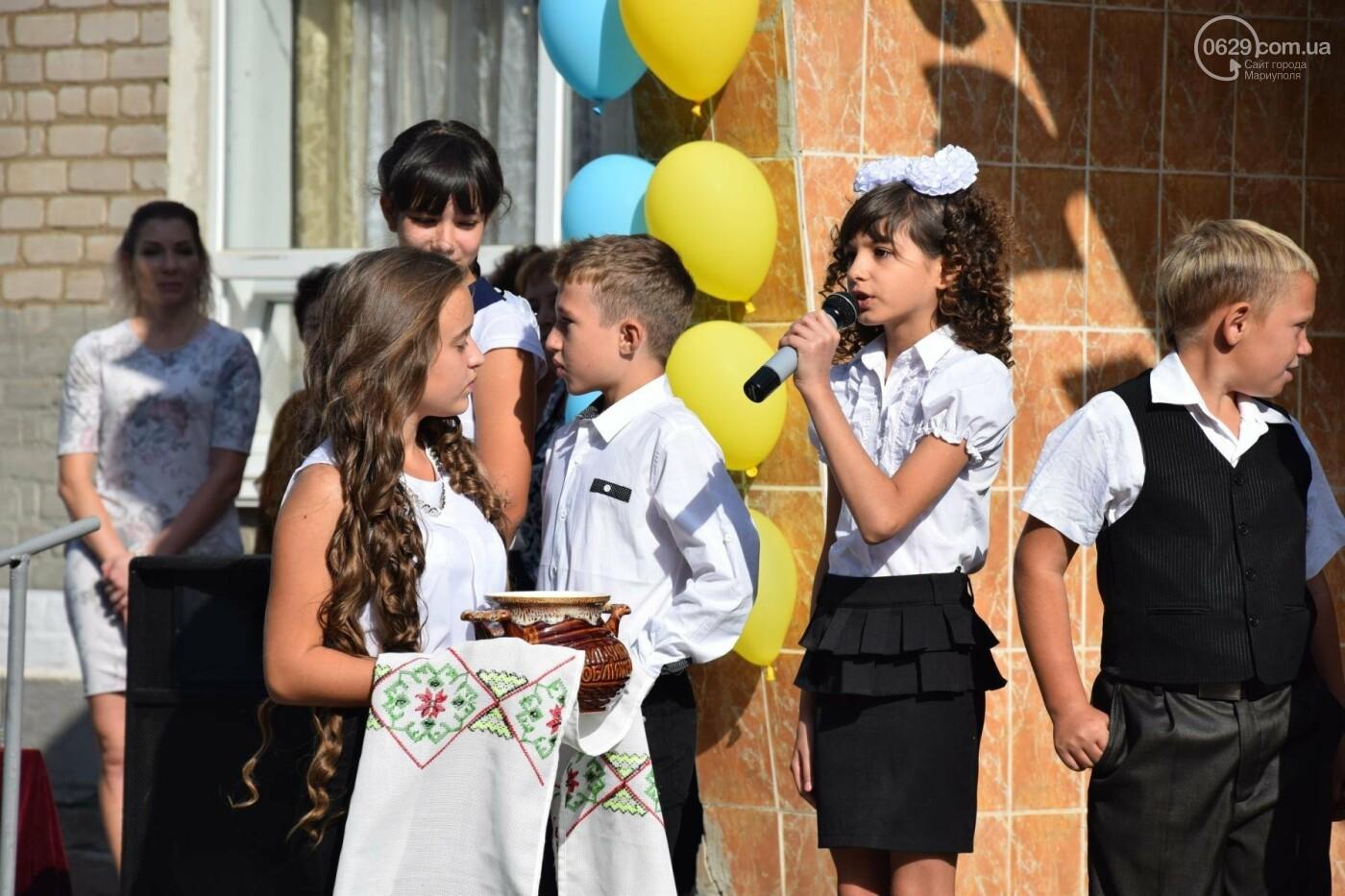 Первый звонок в прифронтовой школе. Чермалык, фото-42