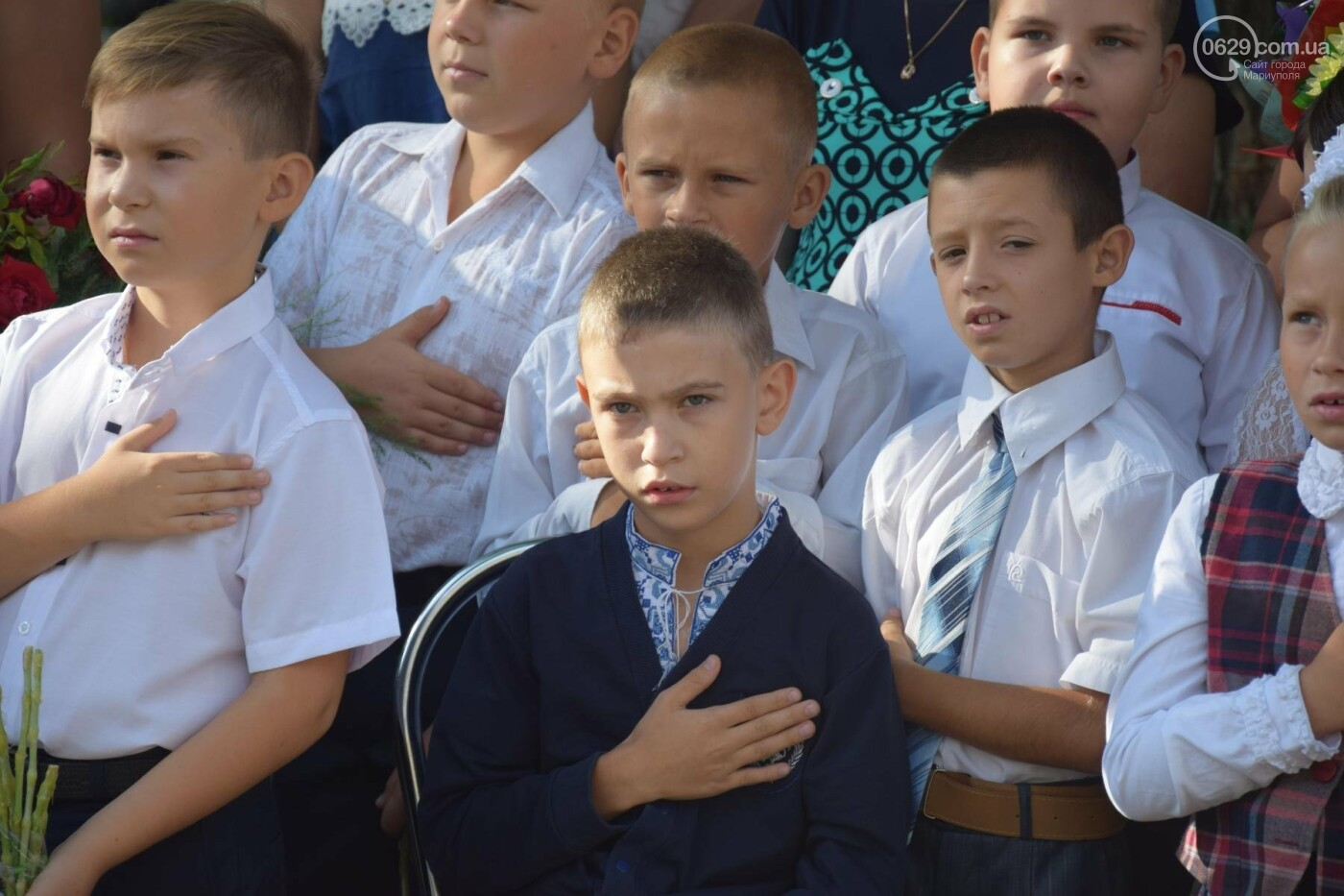 Первый звонок в прифронтовой школе. Чермалык, фото-4