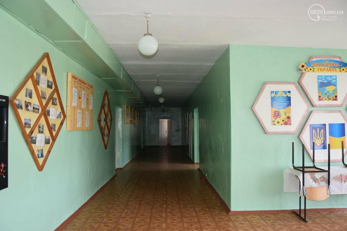 Первый звонок в прифронтовой школе. Чермалык, фото-17