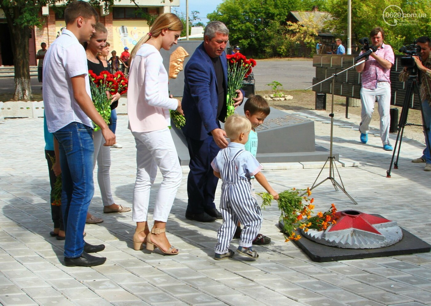 Как прошла 75-я годовщина освобождения Донбасса в регионе: фото, фото-1