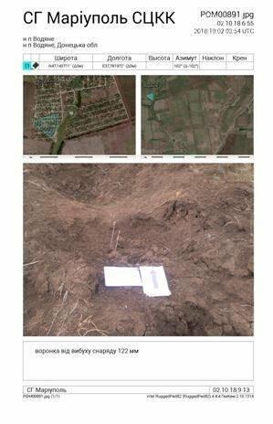 Боевики обстреляли мирный поселок под Мариуполем (ДОПОЛНЕНО), фото-1