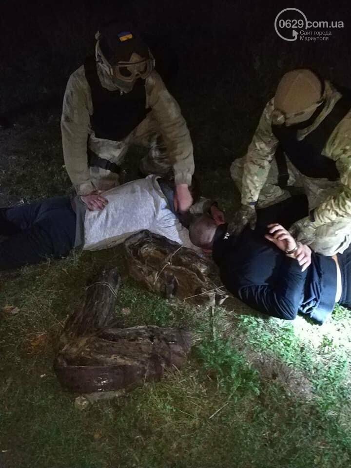 """В Мариуполе поймали злоумышленников, которые в течение года ночами воровали кабель на """"Азовстали"""", - ФОТО, фото-4"""