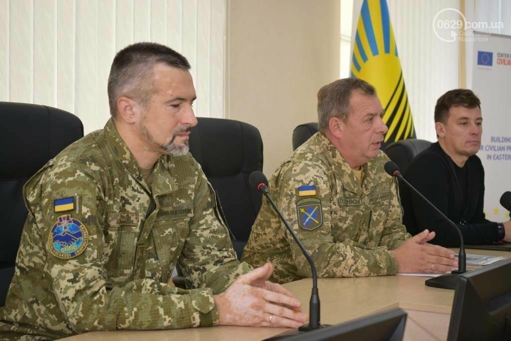 В Украине запустят пилотный проект по защите гражданского населения на Донбассе, - ФОТО, фото-1