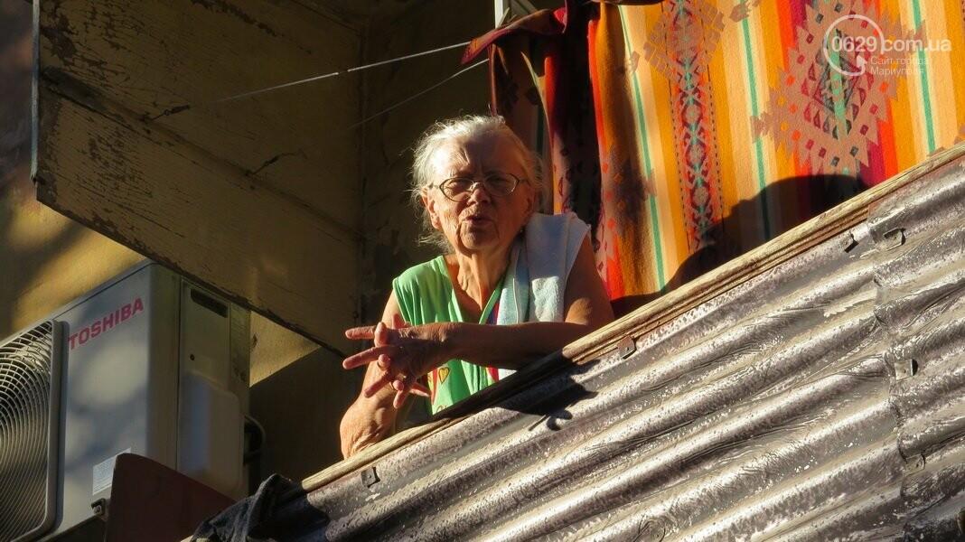 Мариупольский двор засыпают 100 тоннами шлака, - ФОТО, фото-15