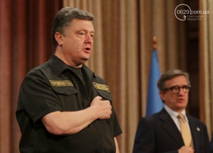 7 визитов Порошенко. Зачем гарант приезжал в Мариуполь, - ФОТО, фото-1