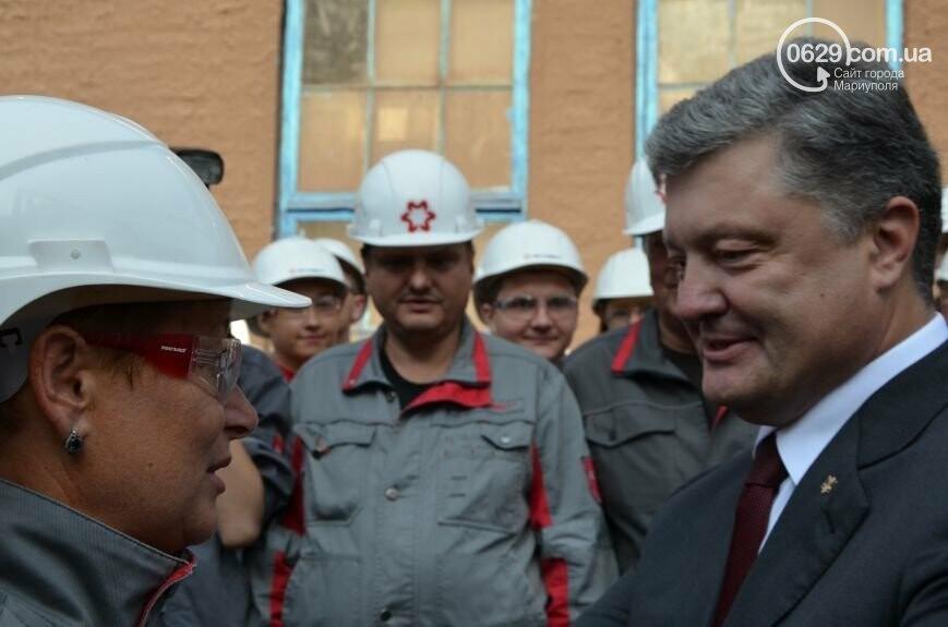 7 визитов Порошенко. Зачем гарант приезжал в Мариуполь, - ФОТО, фото-3