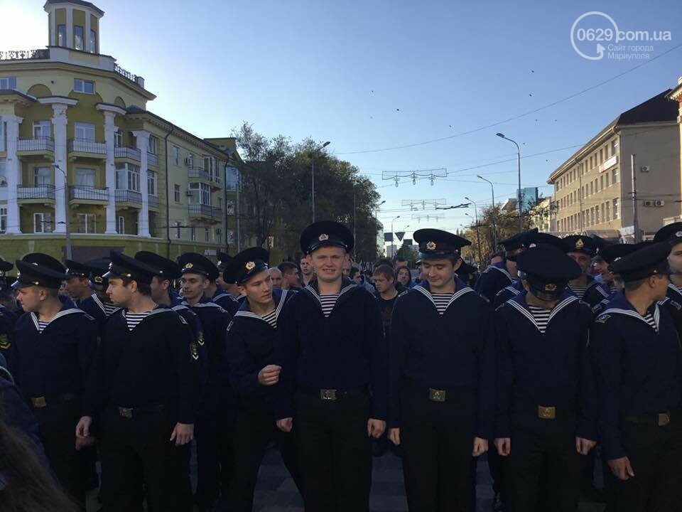 Порошенко проводил на срочную службу мариупольских призывников, - ФОТО, ВИДЕО, фото-6
