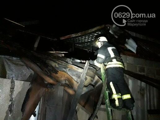 В Мариуполе горела сауна, - ФОТО, фото-4