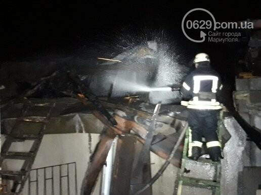 В Мариуполе горела сауна, - ФОТО, фото-3
