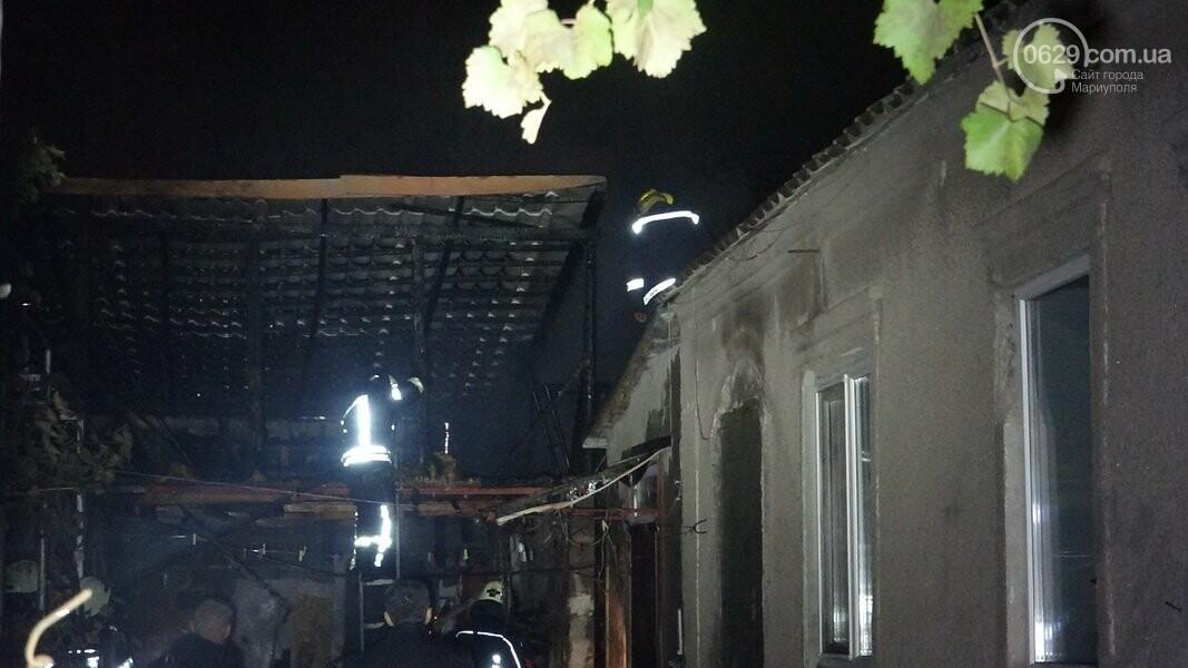 В Мариуполе горела сауна, - ФОТО, фото-8