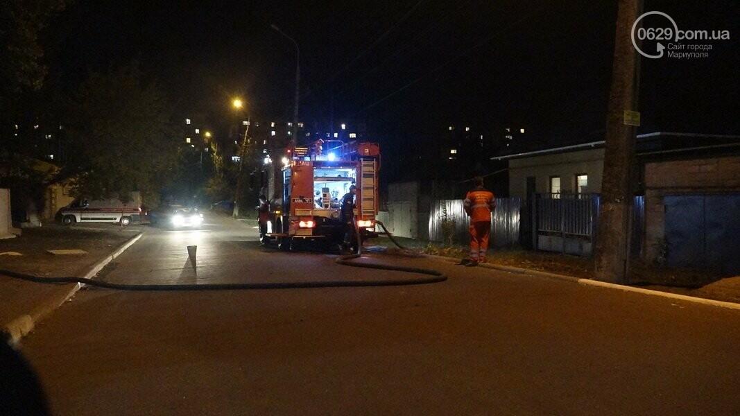 В Мариуполе горела сауна, - ФОТО, фото-11