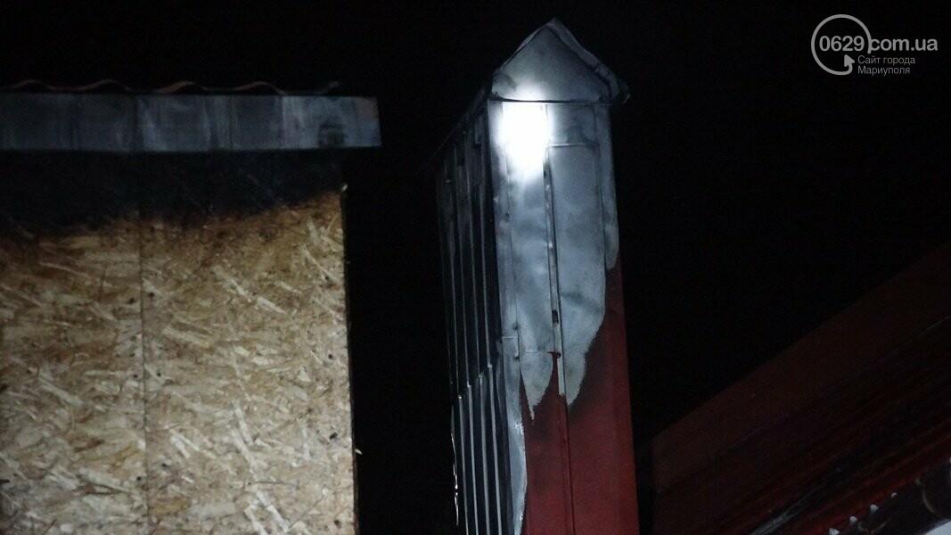 В Мариуполе горела сауна, - ФОТО, фото-6