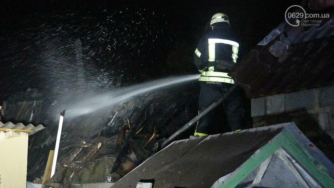 В Мариуполе горела сауна, - ФОТО, фото-13