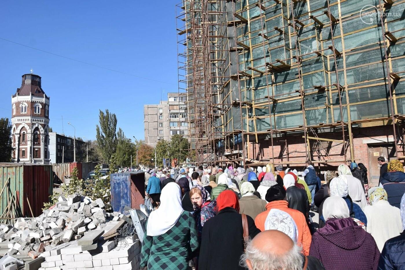 В Мариуполе православные христиане отмечали Покров, - ФОТО, ВИДЕО, фото-1