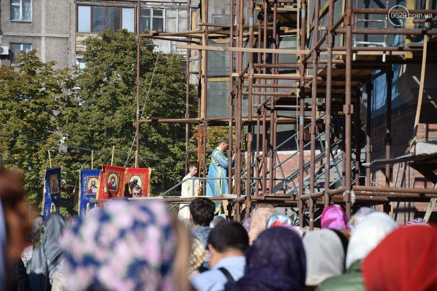 В Мариуполе православные христиане отмечали Покров, - ФОТО, ВИДЕО, фото-6