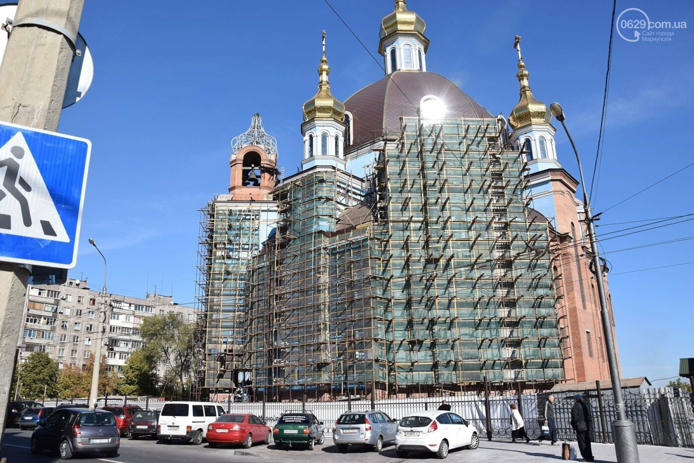В Мариуполе православные христиане отмечали Покров, - ФОТО, ВИДЕО, фото-7