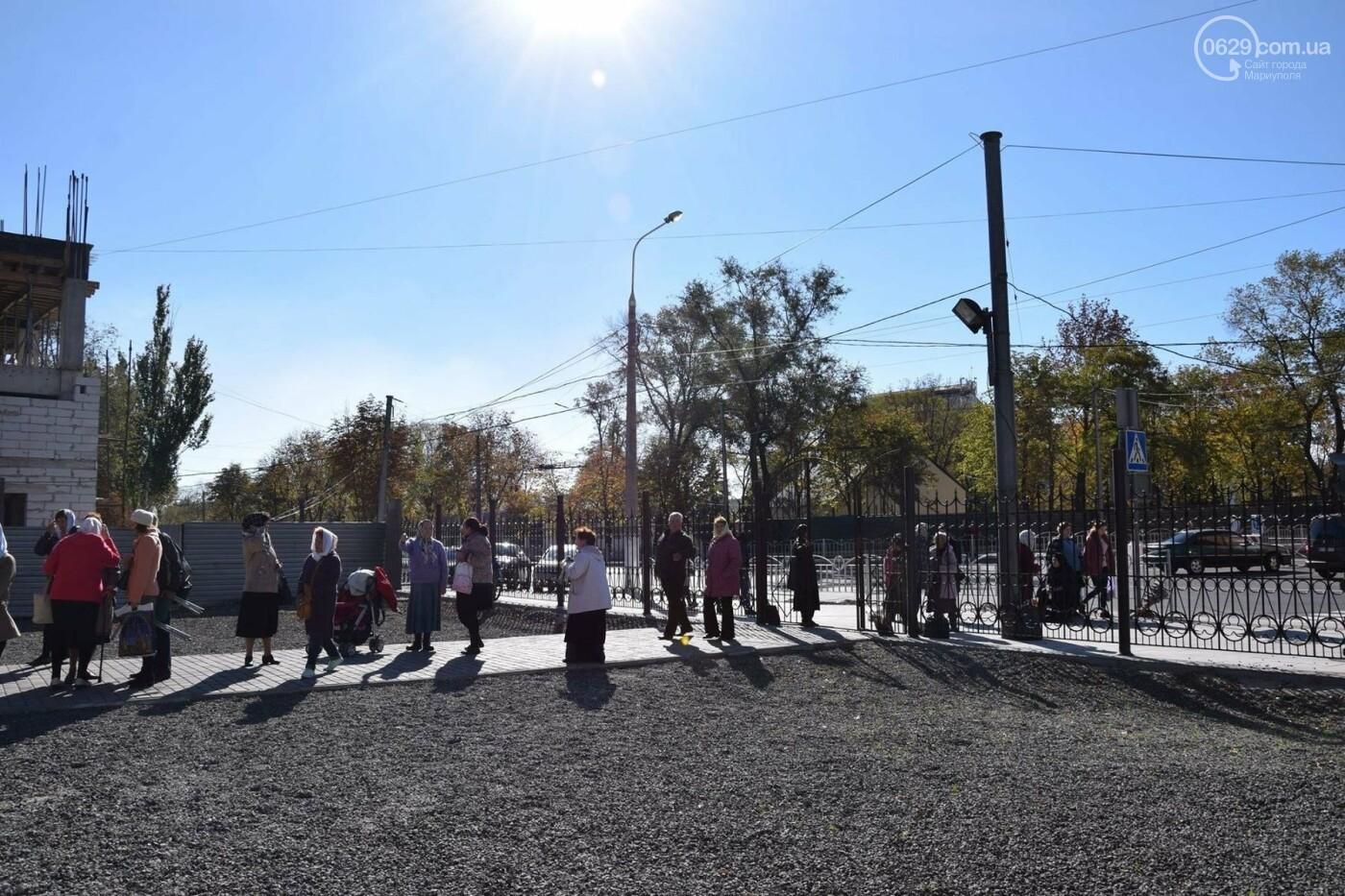 В Мариуполе православные христиане отмечали Покров, - ФОТО, ВИДЕО, фото-8