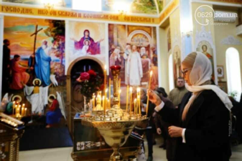 Юлія Тимошенко помолилася за мир та українських військових у прифронтовій Костянтинівці, фото-1