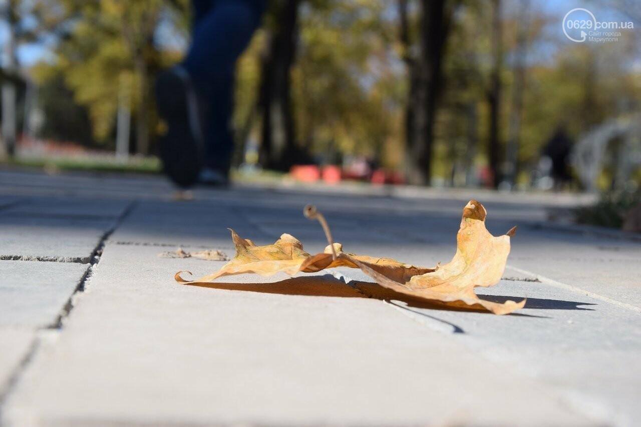 Мариуполь ловит теплое дыхание осени, - ФОТОРЕПОРТАЖ, фото-27