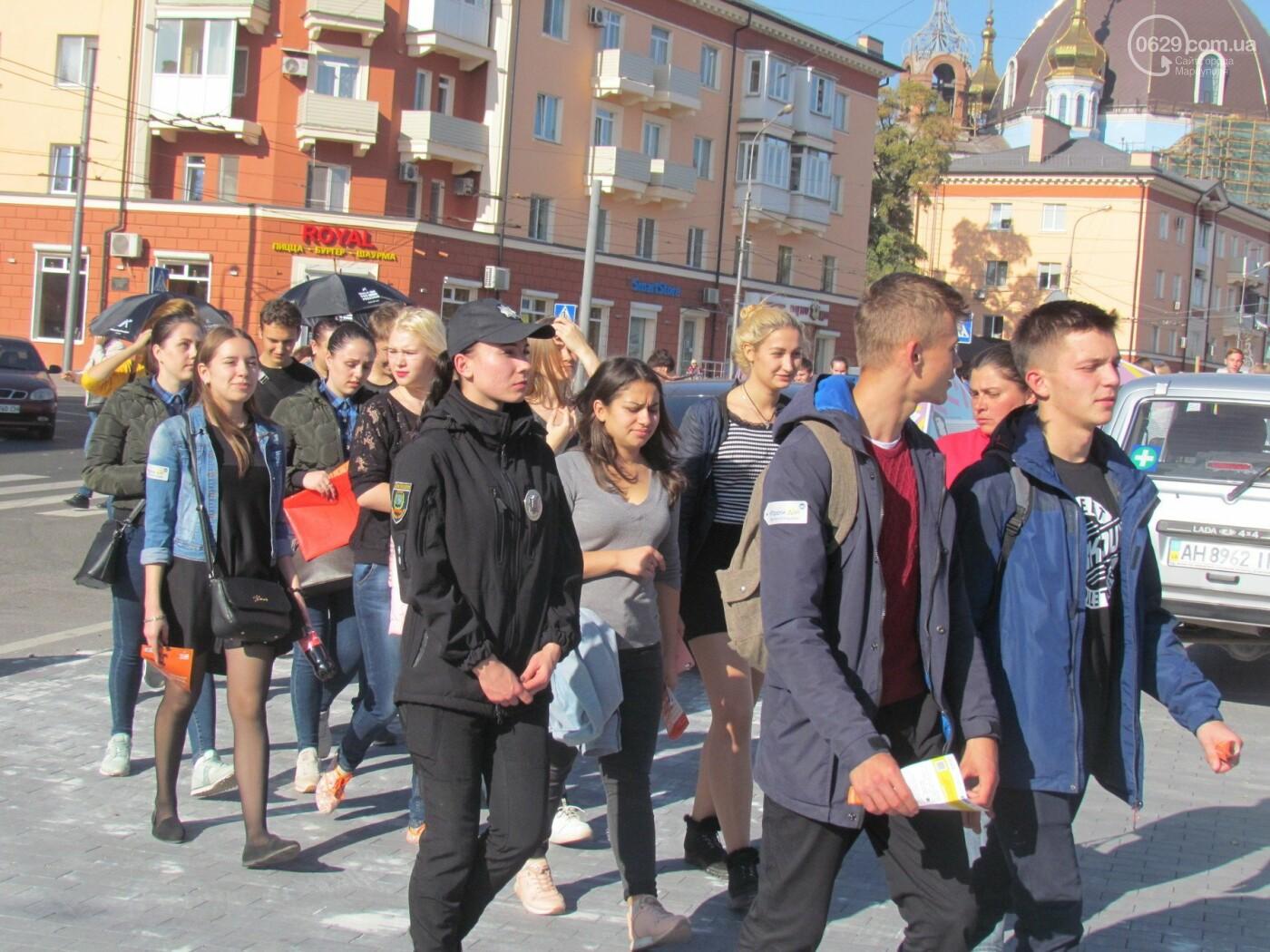 В Мариуполе устроили марш против торговли людьми - ФОТОРЕПОРТАЖ, фото-5