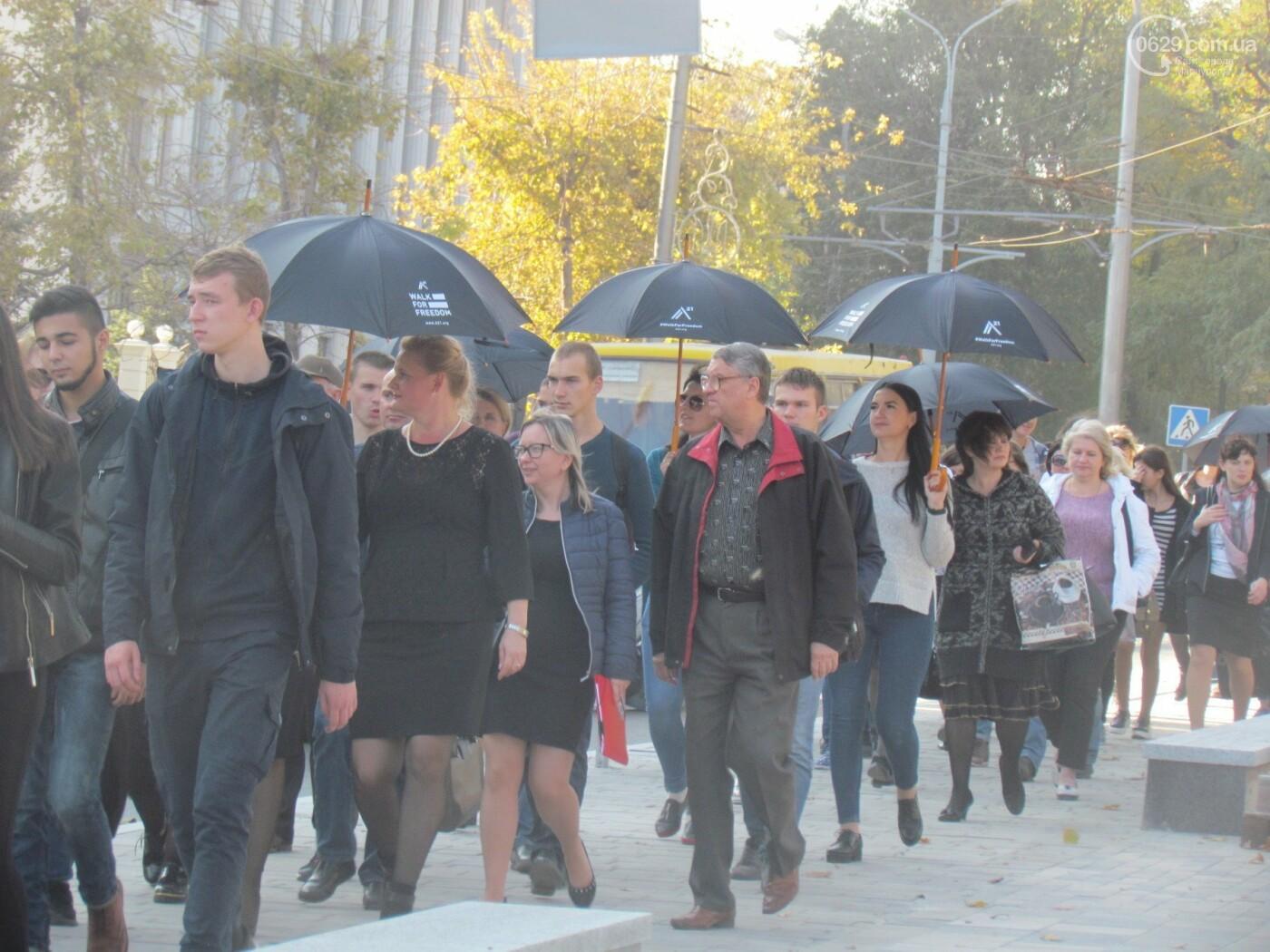В Мариуполе устроили марш против торговли людьми - ФОТОРЕПОРТАЖ, фото-2